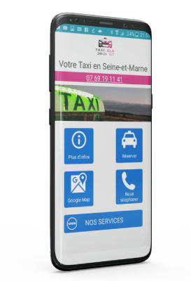 Application Android Taxi samoreau